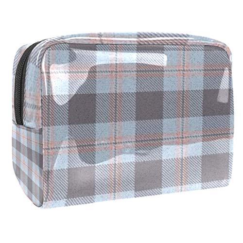 Kosmetiktasche für Damen, Tofu Cubes Reise-Kosmetiktasche, Kulturbeutel, groß, PVC, Make-up, praktischer Beutel, Organizer mit Reißverschluss