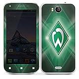 DeinDesign Wiko Cink Peax 2 Folie Skin Sticker aus Vinyl-Folie Aufkleber Werder Bremen Fanartikel SV Fußball