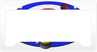 Best curling license plate frame Reviews