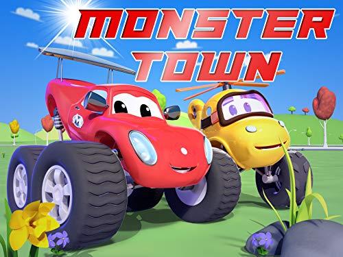 Monster Town - la ciudad de Camiones Monstruo