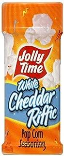 Jolly Time Popcorn Seasoning White Cheddar Riffic, 2.75 oz