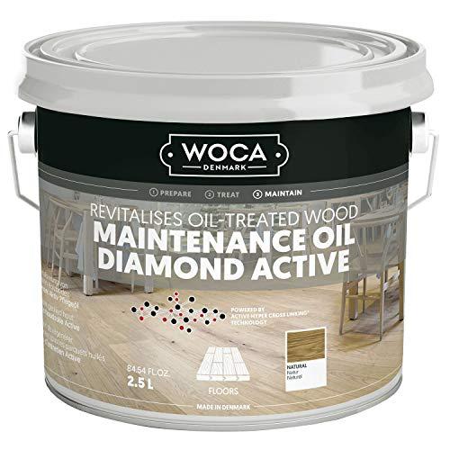 WOCA Diamant Aktiv Pflegeöl, natur 2,5 L