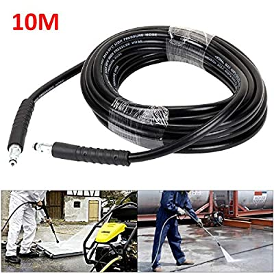 KingSaid 10m High Pressure Cleaning Washer Hose for Karcher High Pressure Washers from KingSaid
