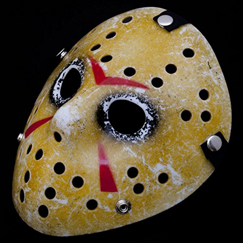 GOODS+GADGETS Vintage Design Jason Ice-Hockey Maske Friday 13 Eishockey Hockeymaske