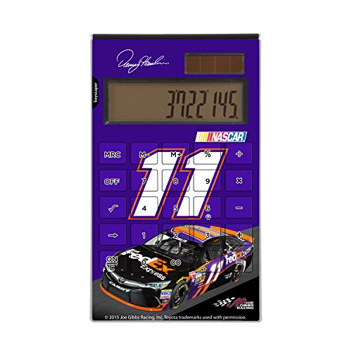 Keyscaper Denny Hamlin Desktop Calculator NASCAR