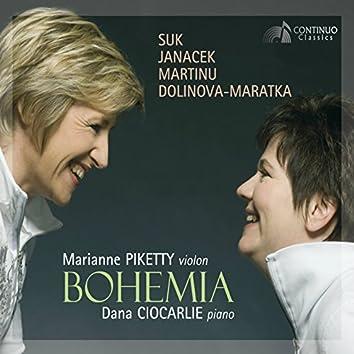 Bohemia: Suk - Janáček - Martinů - Dolinova - Maratka