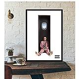 Mac Miller Rapper Hip Hop Singer Star Poster Wall Art Canvas Painting Imagen de pared moderna para sala de estar Home Garden Decoration-50x75cm Sin marco