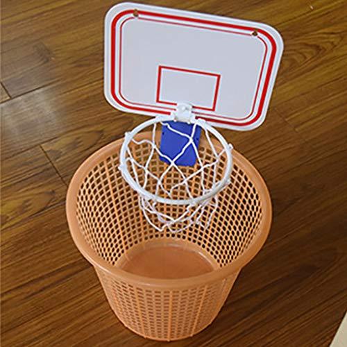 Juguetes de baloncesto New Toy Basketball Hoop Portátil Funny Mini Baloncesto Hoop Toys Kit Indoor Home Baloncesto Fans Deportes Juego Juego Juego Niños Niños Adultos Mejores regalos canasta de balonc