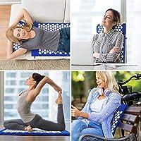 SODOLIFE Set Tappetino Agopressione, Cuscino e Tappetino Massaggio per Rilassare Il Corpo, Alleviare Il Dolore alla Schiena e al Collo - con Borsa #3
