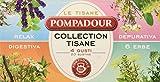 pompadour - tisana 4 gusti: relax, digestiva, depurativa, 6 erbe - 20 filtri - [confezione da 3]