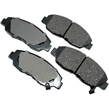 Akebono Performance Ceramic Disc Brake Pads USA MADE AK92670 FRONT+REAR