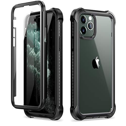 Coque iPhone 11 Pro Bumper Protection Totale à 360 ° avec Protecteur D'écran Intégré