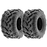 MMG Set of 2 18x9.5-8 Tires 4 Ply Lawn Mower Garden Tractor 18-9.50-8 Turf Grip Tread