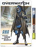 Trends International Overwatch-Ana Wandposter mit Clip,