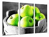 Cuadro Fotográfico Manzanas verdes, Frutero, Fruta Tamaño total: 97 x 62 cm XXL