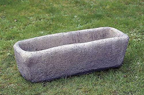 pompidu-living Trog Steintrog Pflanzkasten 2630 H 30 B 97 T 40 Farbe Sandstein