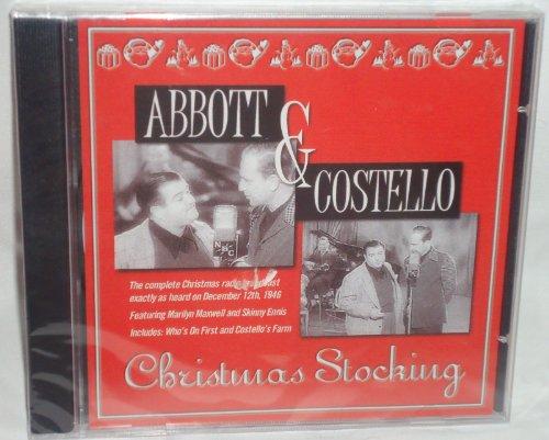 Abbott & Costello Christmas Stocking