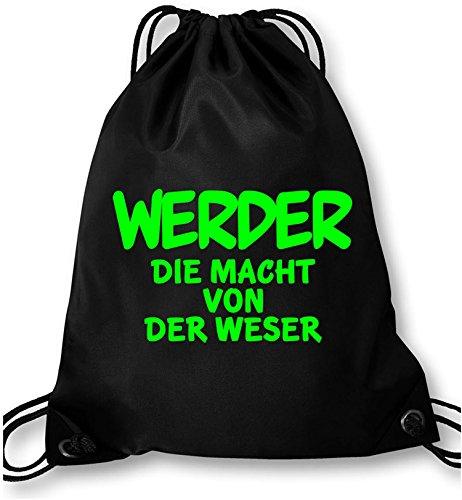 EZYshirt® Werder die Macht von der Weser Turnbeutel