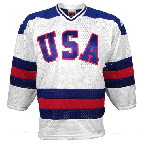 1980 USA OlympicMiracle On Ice Replica Home Jersey - Size XX-Large
