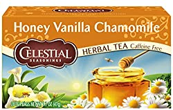 Our Top 10 Favorite Products on Amazon for the New Year (2017) - Celestial Seasonings Honey Vanilla Chamomile (caffeine-free!)