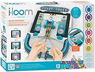 Style Me Up i-Loom Friendship Bracelet Kit, Weaving and Knitting Set for Jewelry (Blue)