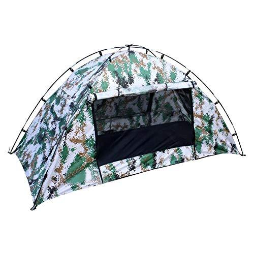 Camping Pop-up Zelt, wasserdicht One Person Zelt Outdoor Tarnung UV Schutz für Camping Wandern 200 100 100 cm