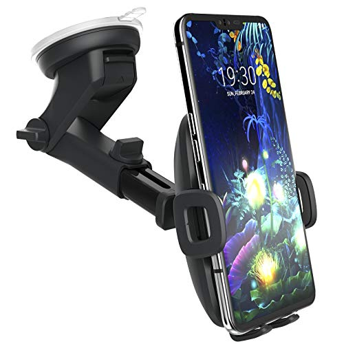 Encased Galaxy S10 Car Phone Holder (fits Samsung Models S10 S10+ S10e, S20, S20 Plus, S20 Ultra, S21, Note 9, Note 10 Plus, Note 20) Dock Includes Dash & Window Mount (Case Friendly Design)