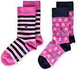 Tommy Hilfiger Unisex-Child Stars and Stripes Kids Classic Sock, pink Combo, 31/34