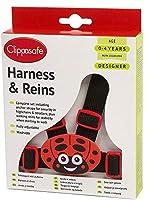 Clippasafe Designer Harness & Reins - Ladybird
