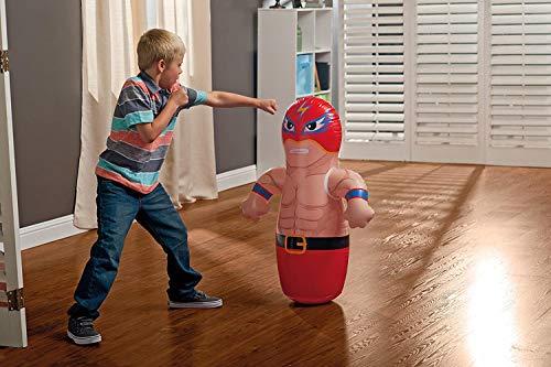 ML tentepie muñecos y Animales Hinchable tentetioso . muñeco Luchador Hinchable para niños