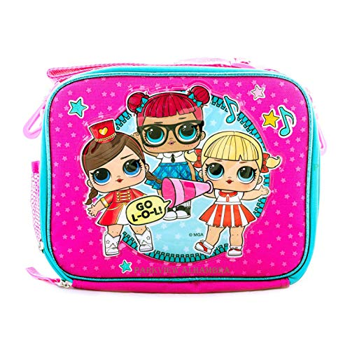 L.O.L Surprise! Lunch Box Dolls Travel Bag Food Snack bag Picnic GO L.O.L Series Include Crayons