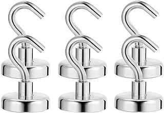 Cabilock 6 crochets magnétiques robustes résistants pour le rangement et l' organisation Accessoires de cuisine à domicile...