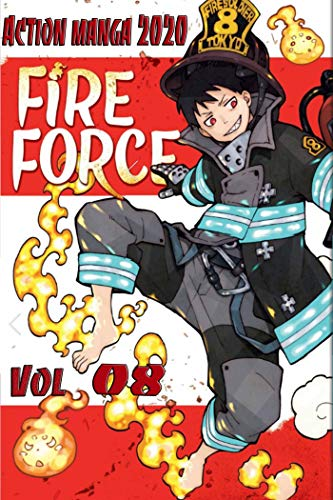 New Fire Force Manga Collection: Fire Force Volume 8 (English Edition)