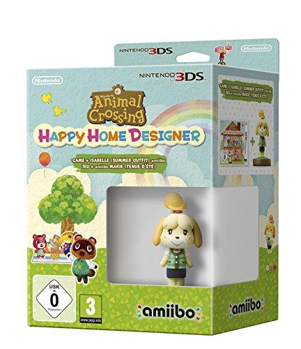 Animal Crossing Happy Home Designer + Amiibo Fuffi (Vestito Estivo) - Limited - Nintendo 3DS