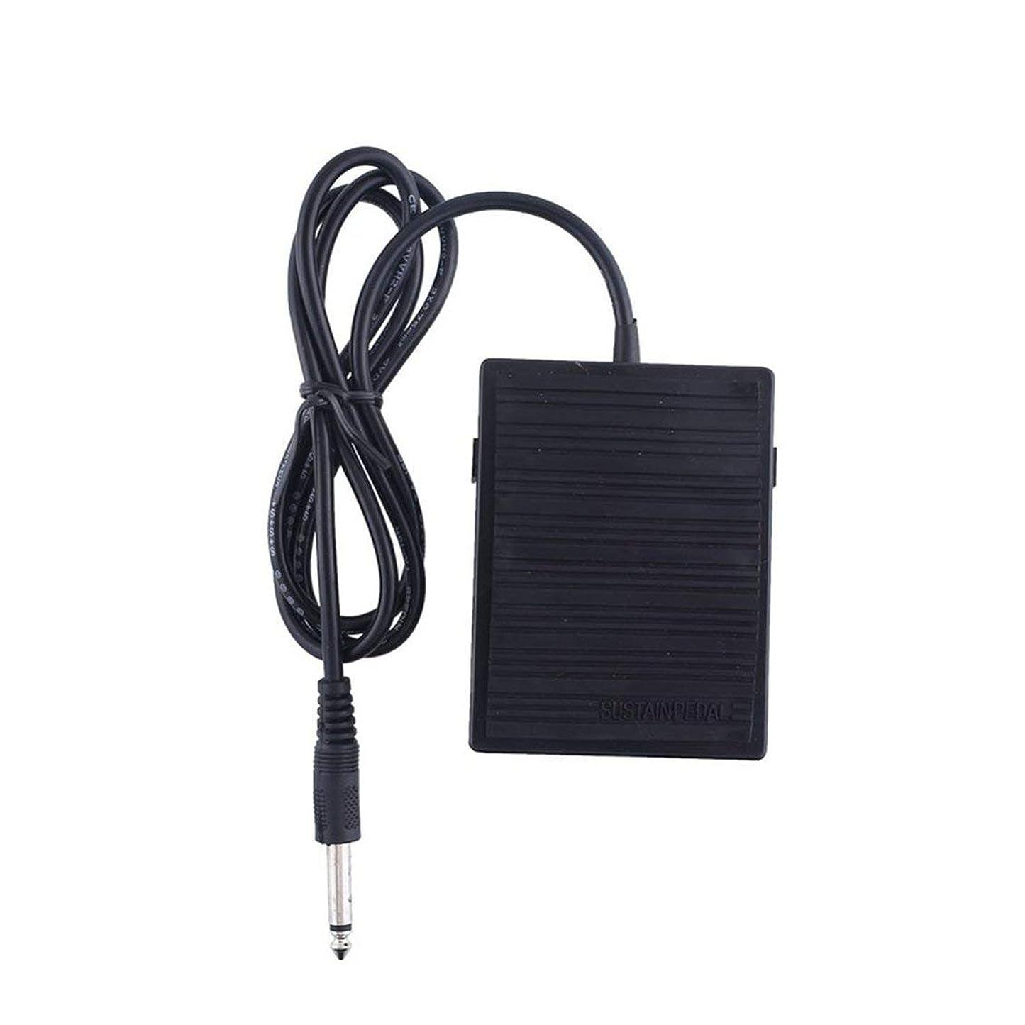 ジャンプくつろぎ六Followmyheart 耐久性のある使用フットサスティンペダルコントローラースイッチ用電子ピアノキーボード楽器ミュージカルトーンピアノアクセサリー