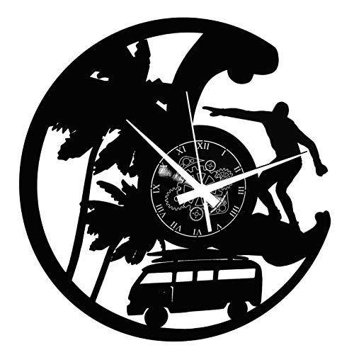 Instant Karma Clocks - Reloj de Vinilo de Pared, Disco de Playa,...