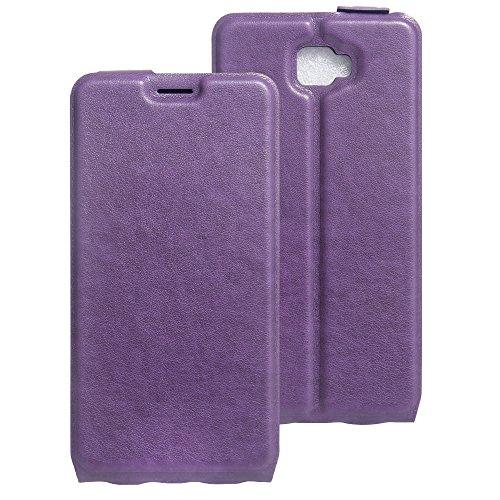 Litao-Case CN Hülle für Archos 55 Cobalt Plus hülle Flip Leder + TPU Silikon Fixierh Schutzhülle Case 1