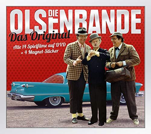 Die Olsenbande: Das Original / Box inkl. 4 Magnet Sticker [14 DVDs]
