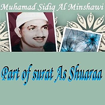 Part of Surat As Shuaraa (Hafalat) [Quran]
