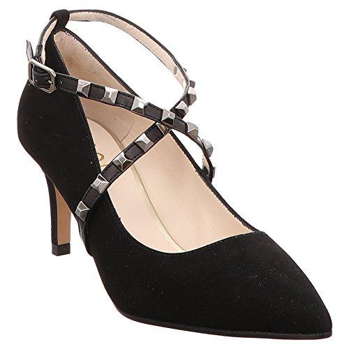 Lodi | Eldora | Pumps - schwarz | Glove Negro, Farbe:schwarz;Größe:39