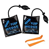 AUTOUTLET Cuña de Aire de Bomba, 2x Cojines de Montaje, Air Wedge Pump Up, Bo...