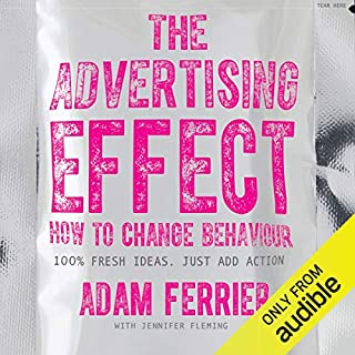 The Advertising Effect audiobook cover art
