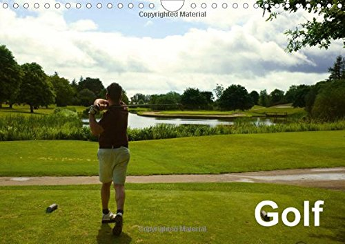 Golf 2016: Usual point of view of each golfer (Calvendo Sports)