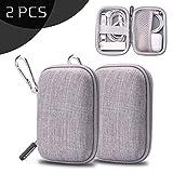 YOLOCE Mini Kopfhörer Tasche mit Schnalle für In Ear Ohrhörer, MP3 Player, iPod Nano, Schlüssel,...