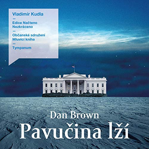 Pavučina lží audiobook cover art