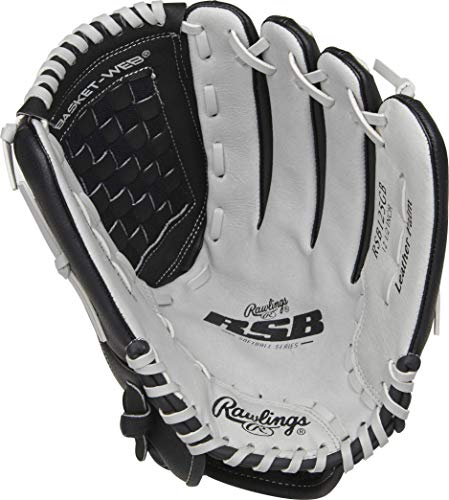 Rawlings Softball Series Glove, Basket Web, 12.5 inch, Right Hand Throw