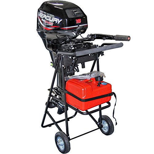 30 HP Outboard Motor Cart Engine Stand with Folding Handle