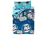 Disney Star Wars Doodle Saco Nórdico de 2 Piezas para Cama de 90, Cotton, Multicolor