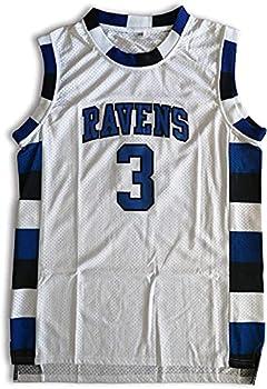 Lucas Scott Jersey One Tree Hill 3 Ravens Basketball Jersey Stitched Sport Movie Jersey White S-3XL  L