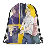 Almost-Okay-Shop Banana Fish Eiji Oku - Bolsa de deporte con cordón